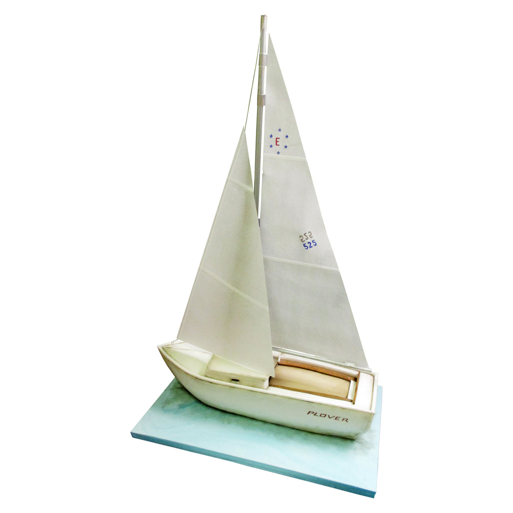 Plover Sailing Boat Cake