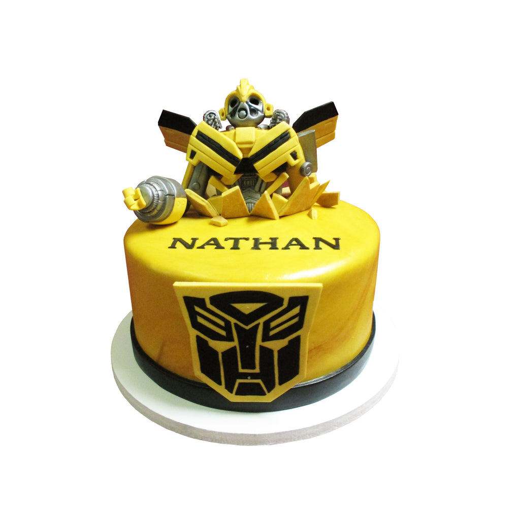 Transformers Bumblebee Cake City Cakes