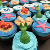 Mermaid Under the Sea Custom Cupcakes