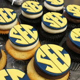 Southeastern Conference Logo Custom Cupcakes