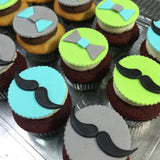 Dapper Gentleman Custom Cupcakes