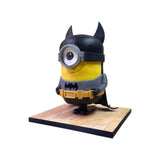 3D Batman Minion Cake