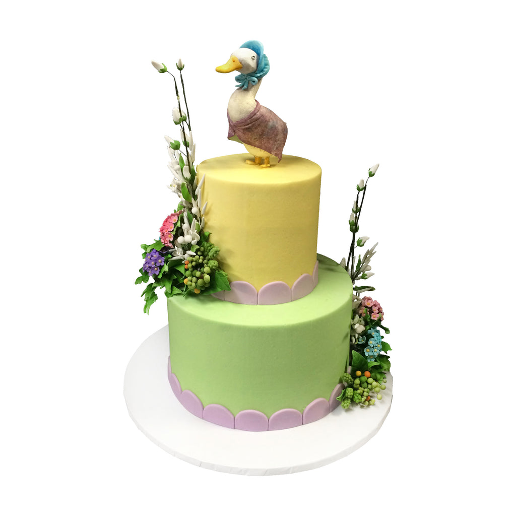 Mother Goose Two Tiered Cake