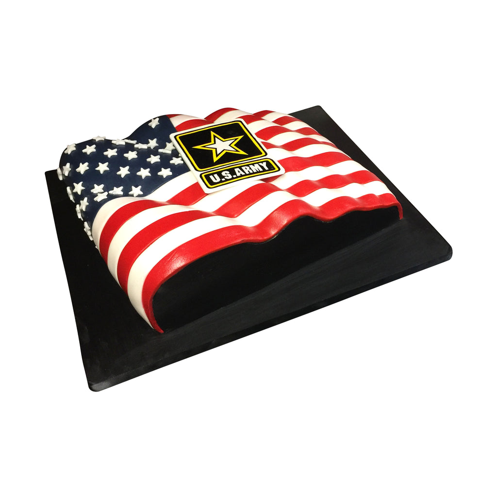 Army Strong Flag Cake