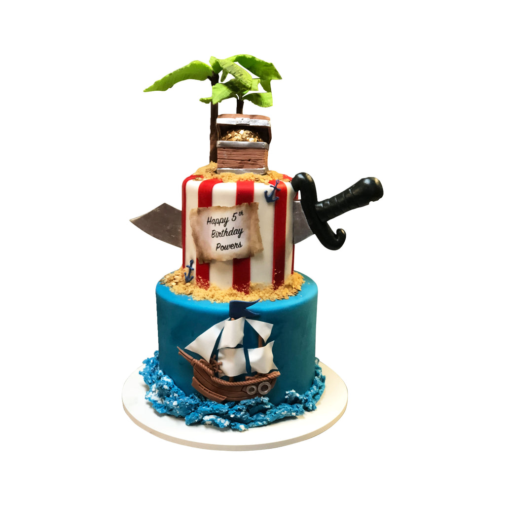 Pirate's Life For Me Cake