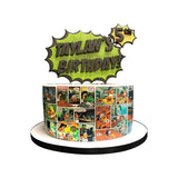 Comic Strip Wow! Cake