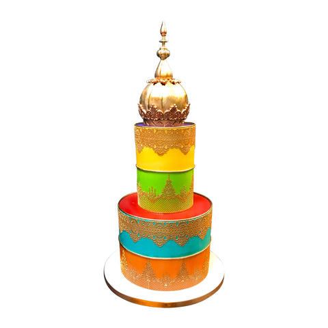 Climbing Color Palate Cake