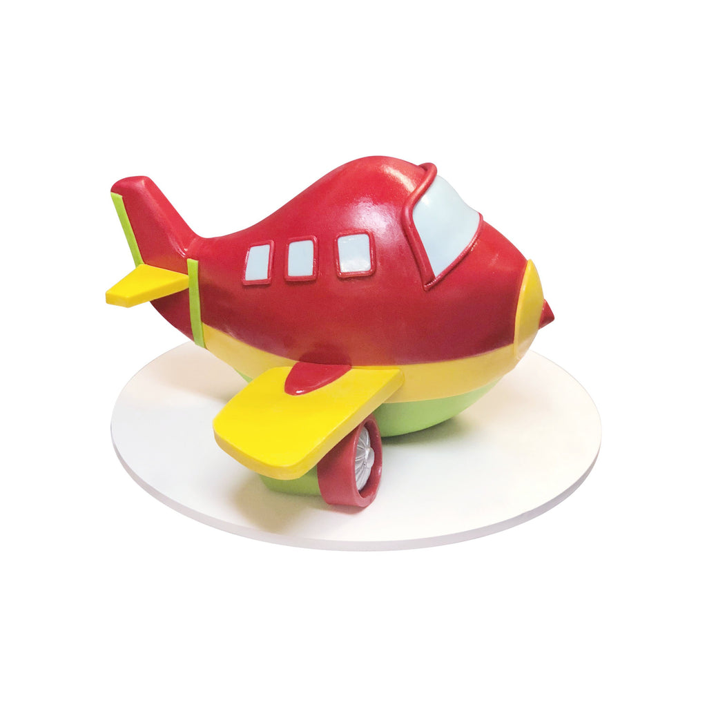 Baby Red Airplane Cake