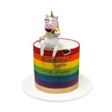 Big Gay Unicorn Cake