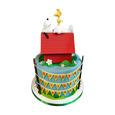 Hot Air Balloon Birthday Party Cake