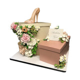 Manolo's and Roses Cake