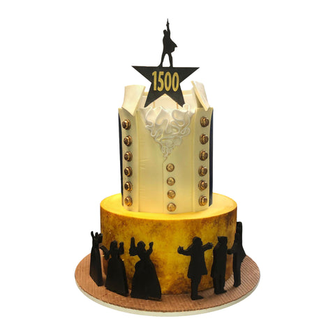 Harry Potter Broadway Cake