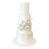 Pearl Obsession Wedding Cake by City Cakes in New York City