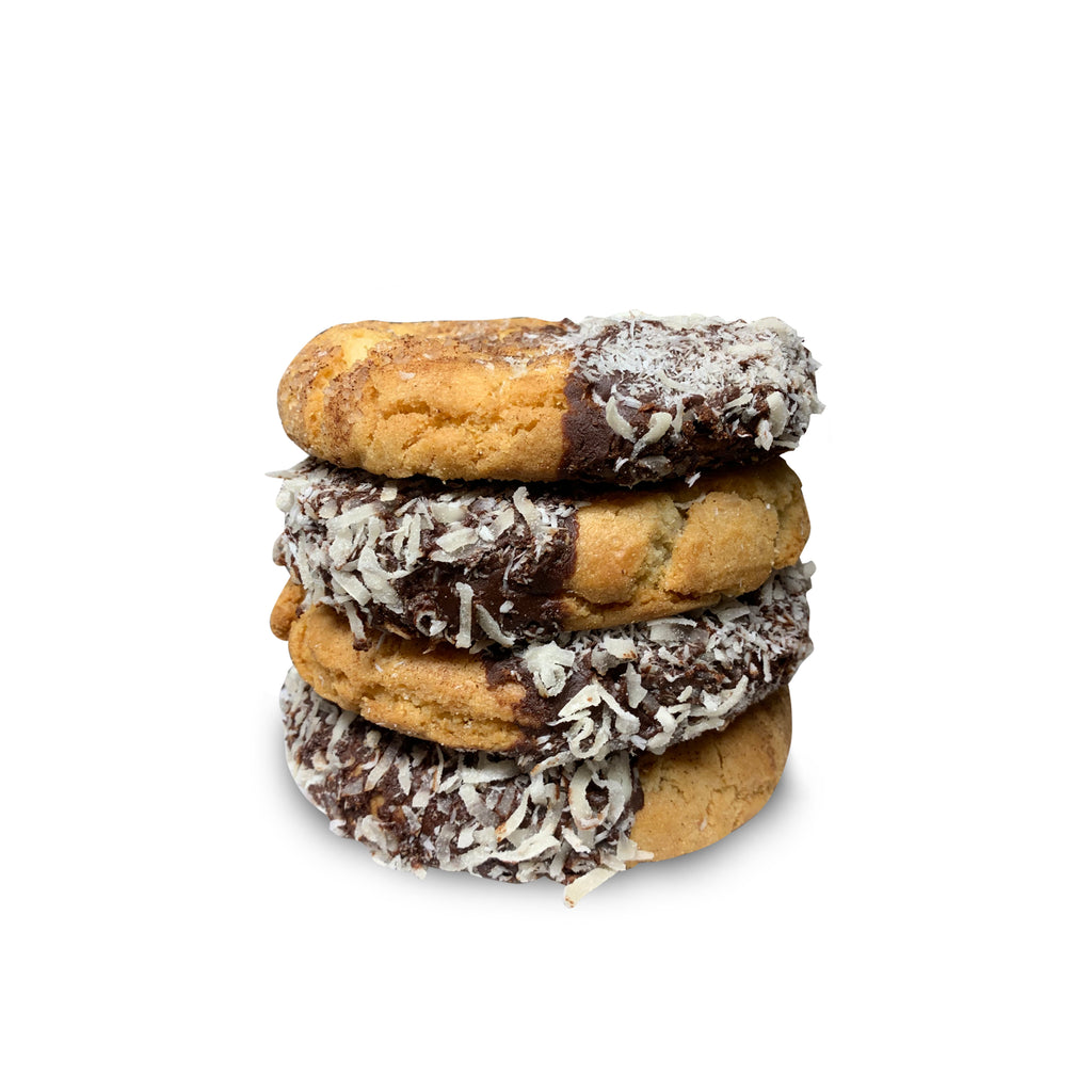 Lady Lamington Jam-Filled Half Pound Cookies for Australia - 4-Pack