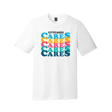 City Cakes CARES Tri-Blend T-Shirt