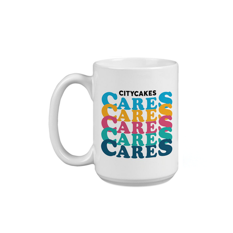 City Cakes CARES Enamel Pin