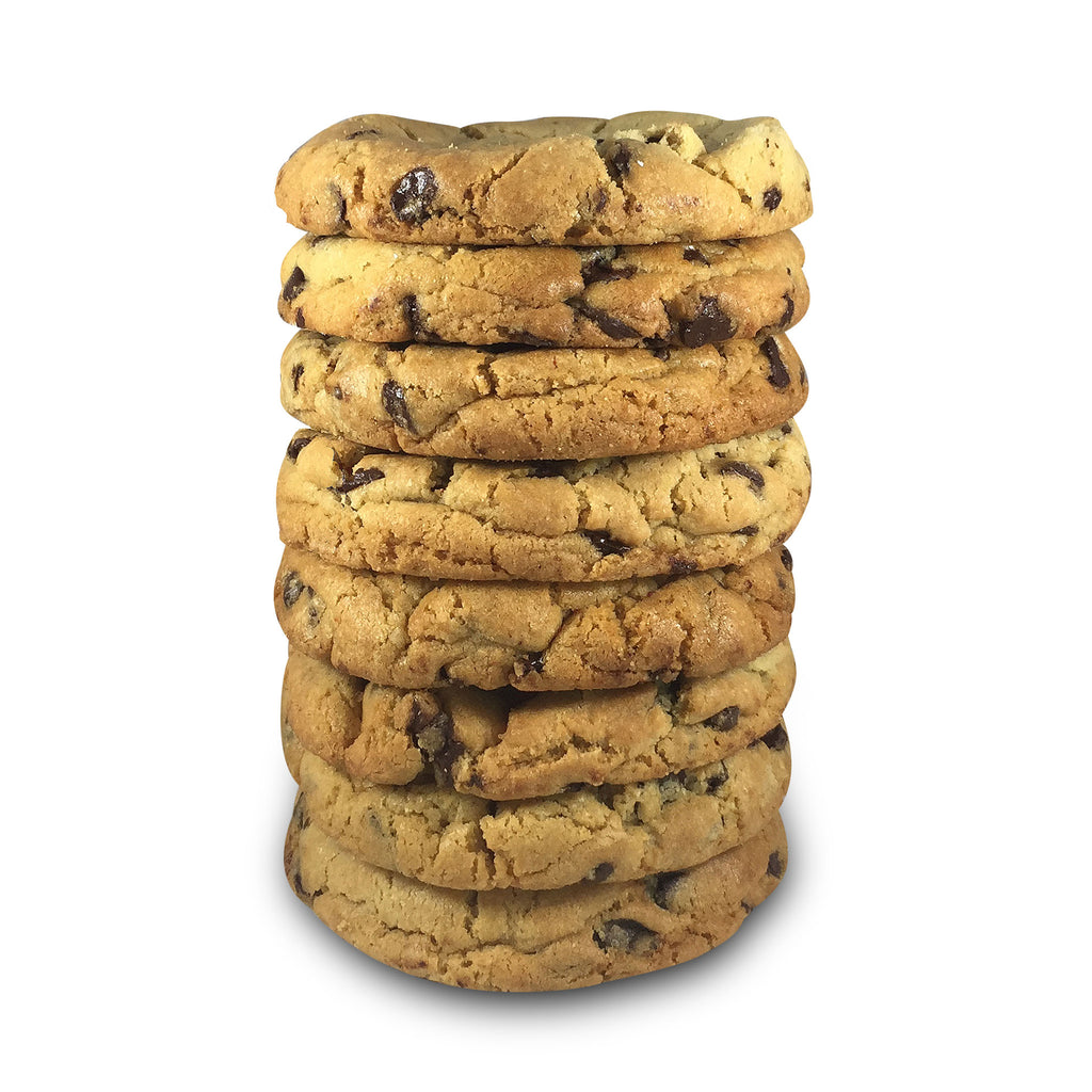 Rich Chocolate Chip Half Pound Cookies - 8 Pack