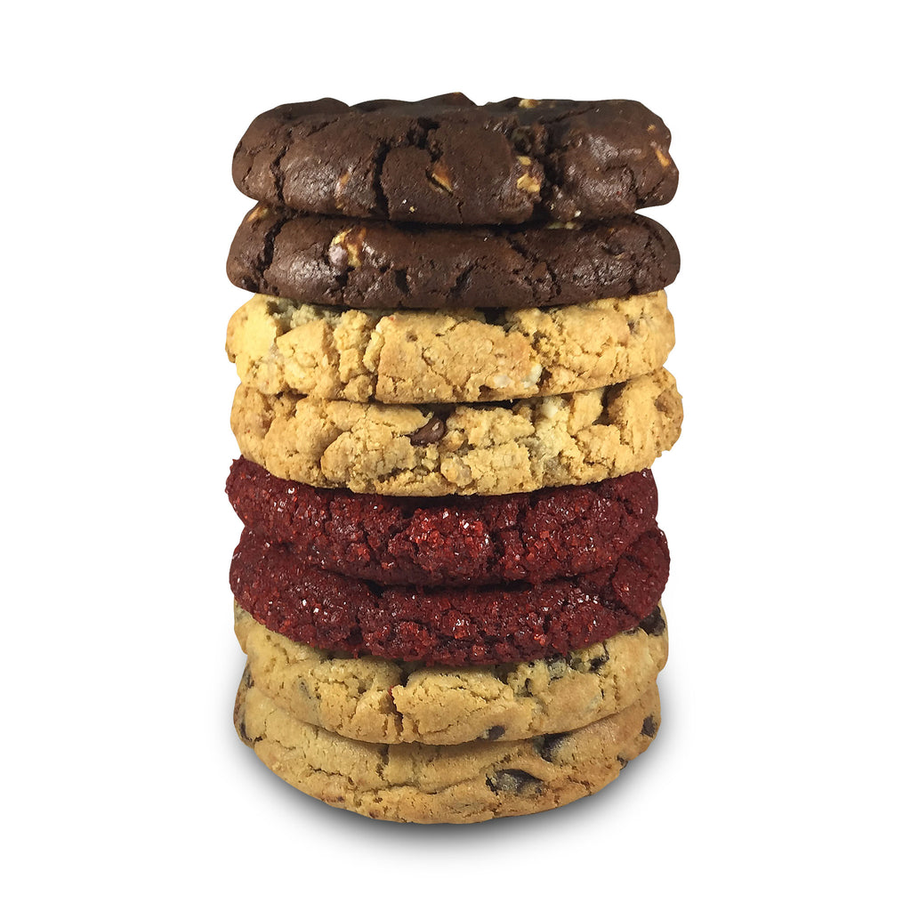 Chocolovers Assorted Half Pound Cookies - 8 Pack