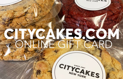 City Cakes In-Store Gift Card
