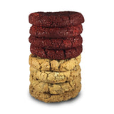 Double Stuffed Assorted Half Pound Cookies - 8 Pack