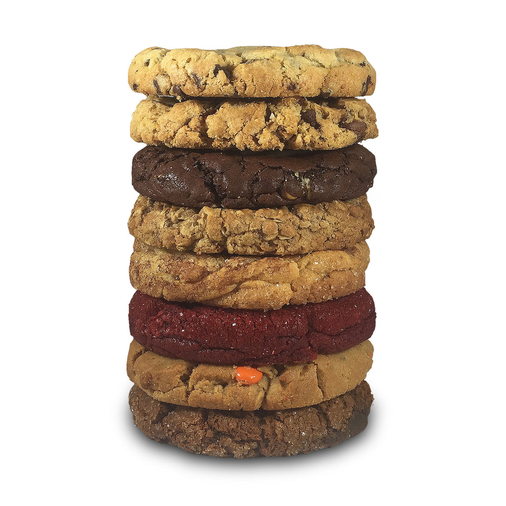 Great Eight Assorted Half Pound Cookies - 8 Pack