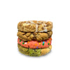 Glutenless Fall Flavskis Assorted Half Pound Cookies (GFI) - 4 Pack