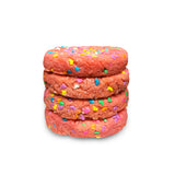 Seasonal Pink Velvet Half Pound Cookies (GFI) - 4 Pack
