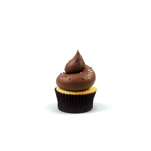 Double Chocolate Decadence Gourmet Cupcake