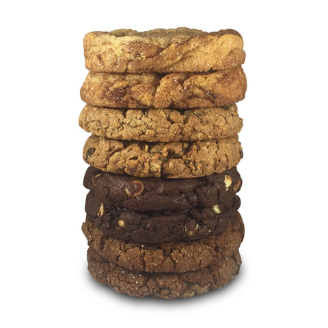 Triple Chocolate Spice Half Pound Cookies - 8 Pack