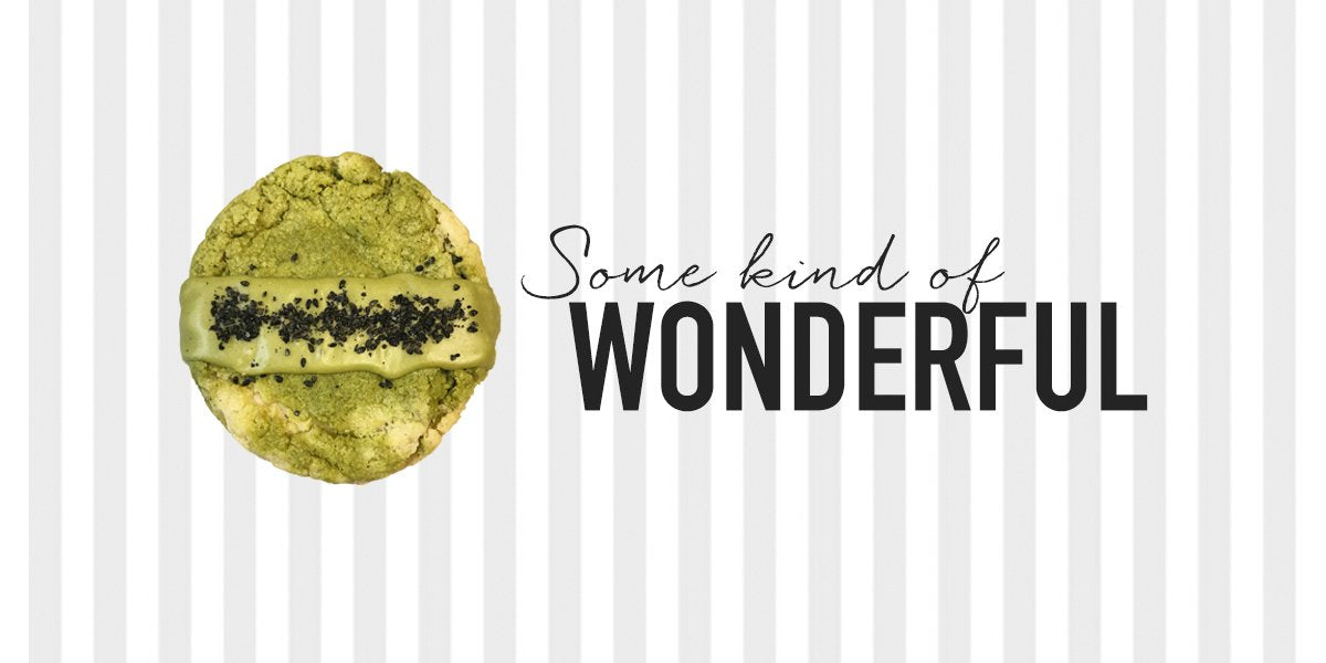City Cakes' Half Pound Cookies Almond Matcha Wonder