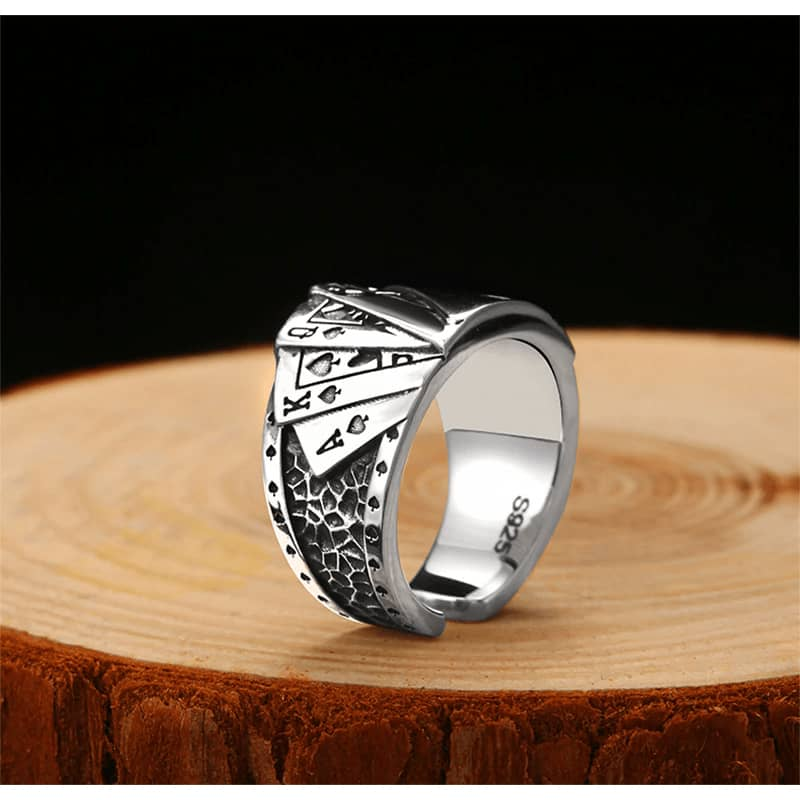 Bague Poker | Boutique biker