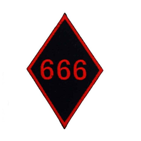 Biker 666 Patch | Boutique biker