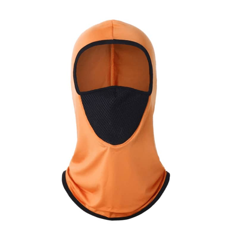 Cagoule orange | Boutique biker