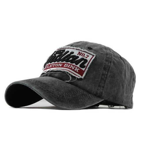 Casquette motorcycle