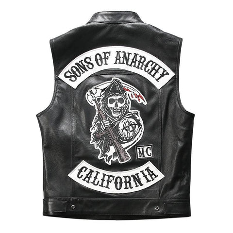 Gilet Cuir Sons Of Anarchy | Boutique biker
