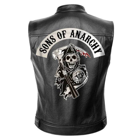 Gilet sons of anarchy | Boutique biker