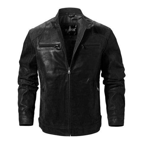 Jacket biker cuir | Boutique biker