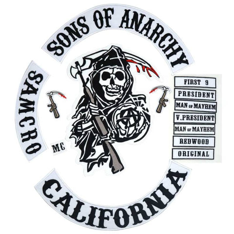 Patch Sons Of Anarchy | Boutique biker