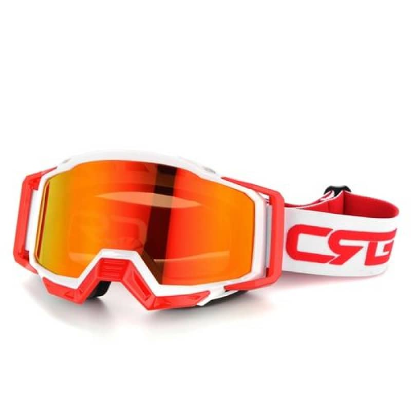 Lunette moto cross orange | Boutique biker