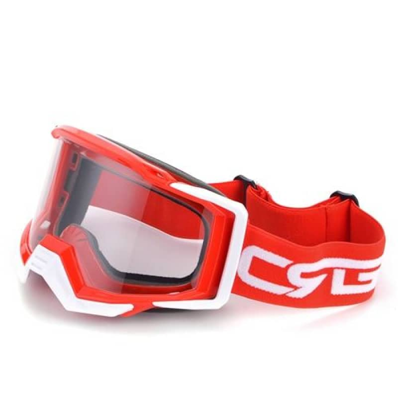 Lunette moto cross rouge | Boutique biker