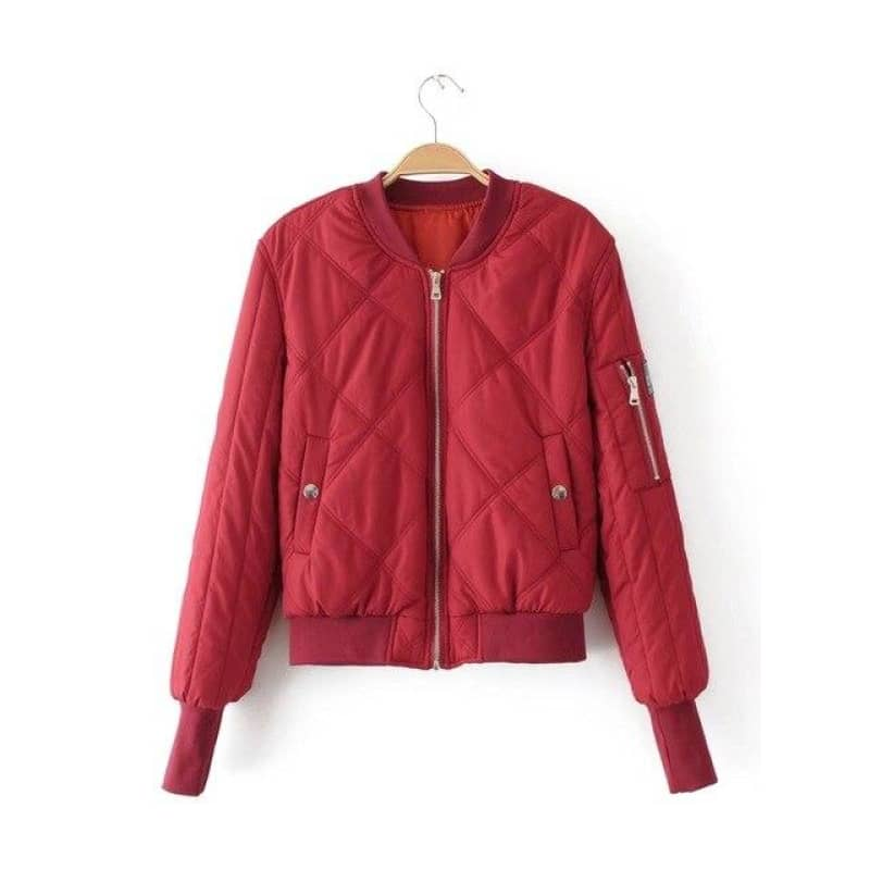 Bomber femme interieur orange | Boutique biker