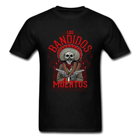 Tee shirt Support Bandidos| Boutique biker