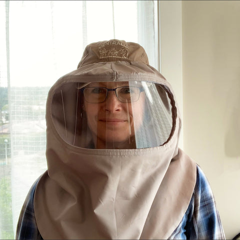 Enclosed Face Shield Hood Pattern Tutorial