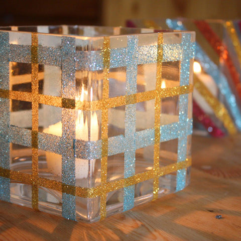 How To: Glitter Votives