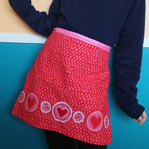 How To: Dish Towel Aprons - Three Ways! Part One