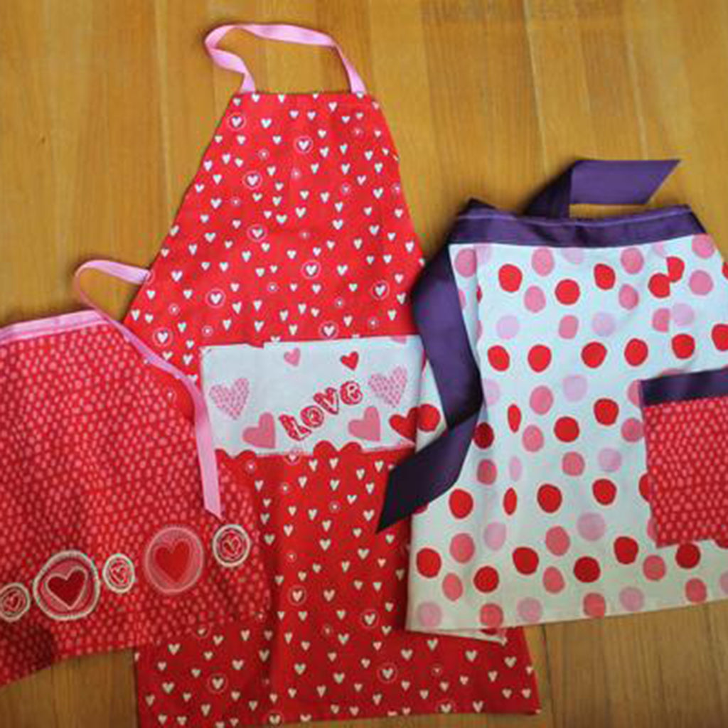 How To: Dish Towel Aprons - Three Ways! Part Two