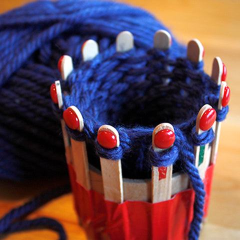 Easy & (Almost) Free Knitting Ring Loom