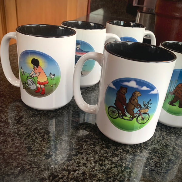 Original Artwork Mugs
