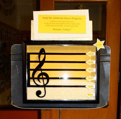 How To: Music Fundraiser Gauge Display