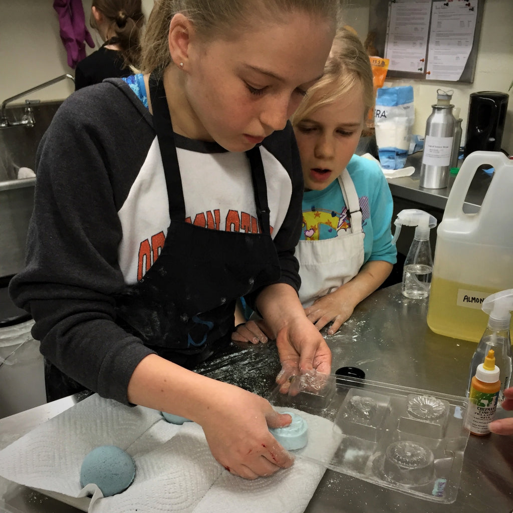 Soap & Bath Bomb Making Class